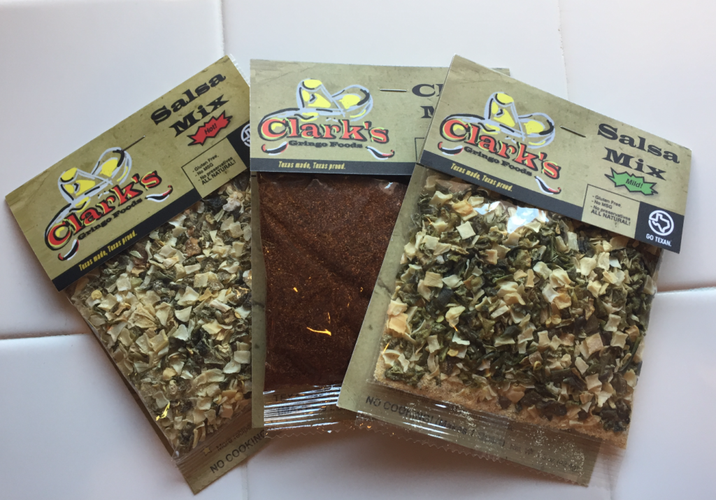 Clark's Gringo Food Mixes